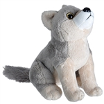 Wild Calls Stuffed Wolf with Real Sound by Wild Republic