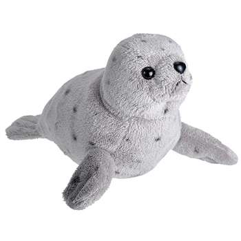 Wild Calls Stuffed Harbor Seal with Real Sound by Wild Republic