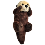 Wild Calls Stuffed Sea Otter with Real Sound by Wild Republic