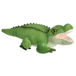 Wild Calls Stuffed Alligator with Real Sound by Wild Republic