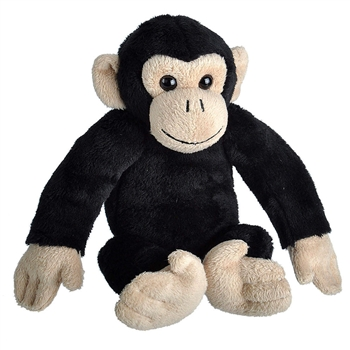 Wild Calls Stuffed Chimpanzee with Real Sound by Wild Republic