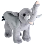 Wild Calls Stuffed Elephant with Real Sound by Wild Republic