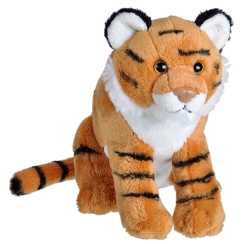 Wild Calls Stuffed Tiger with Real Sound by Wild Republic
