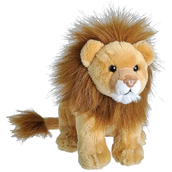 Wild Calls Stuffed Lion with Real Sound by Wild Republic