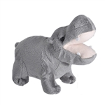 Wild Calls Stuffed Hippo with Real Sound by Wild Republic