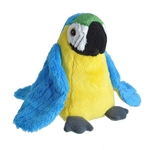 Small Plush Hyacinth Macaw Lil' Cuddlekins by Wild Republic