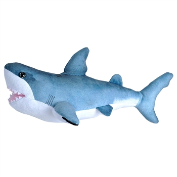 Small Stuffed Great White Shark Living Ocean Plush by Wild Republic