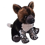 Cuddlekins African Wild Dog Pup Stuffed Animal by Wild Republic