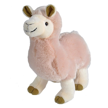 Standing 10 Inch Llama Stuffed Animal by Wild Republic