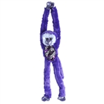 Purple Sequin Hanging Monkey Stuffed Animal by Wild Republic