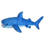 Small Stuffed Blue Whale Living Ocean Plush by Wild Republic