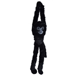 Hanging Black Spider Monkey Stuffed Animal by Wild Republic