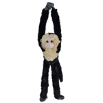 Hanging Capuchin Stuffed Animal by Wild Republic