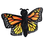 Monarch Butterfly Stuffed Animal Slap Bracelet by Wild Republic