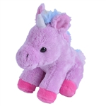Small Plush Purple Unicorn Lil' Cuddlekins by Wild Republic
