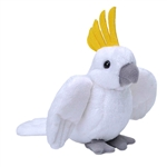Small Plush Cockatoo Lil' Cuddlekins by Wild Republic