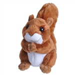 Small Plush Red Squirrel Lil' Cuddlekins by Wild Republic