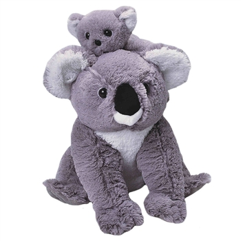 Mom and Baby Koala Stuffed Animals by Wild Republic