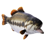 Stuffed Largemouth Bass Living Stream Plush by Wild Republic