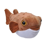 Stuffed Pufferfish Mini Cuddlekin by Wild Republic