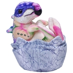 Bright Colors Stegosaurus Hatchling Stuffed Animal by Wild Republic