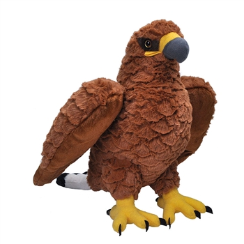 Cuddlekins Golden Eagle Stuffed Animal by Wild Republic