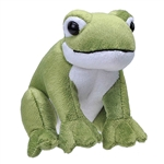 Wild Calls Stuffed Frog with Real Sound by Wild Republic