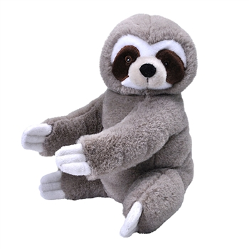 Stuffed Three-toed Sloth EcoKins by Wild Republic