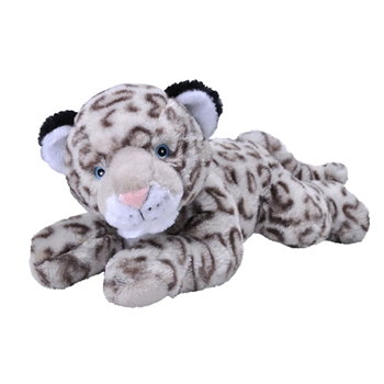 Stuffed Snow Leopard EcoKins by Wild Republic