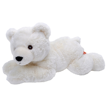 Stuffed Polar Bear EcoKins by Wild Republic
