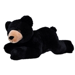 Stuffed Black Bear EcoKins by Wild Republic