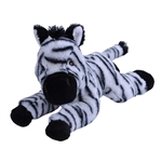 Stuffed Zebra EcoKins by Wild Republic