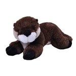 Stuffed River Otter Pup Mini EcoKins by Wild Republic