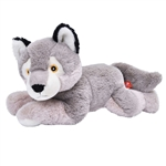 Stuffed Wolf Pup Mini EcoKins by Wild Republic