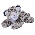 Stuffed Snow Leopard Cub Mini EcoKins by Wild Republic