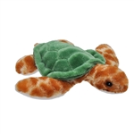 Stuffed Baby Sea Turtle Mini EcoKins by Wild Republic