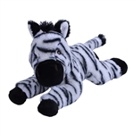 Stuffed Zebra Foal Mini EcoKins by Wild Republic