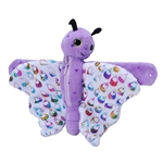 Huggers Keepers Butterfly Stuffed Animal Slap Bracelet by Wild Republic