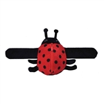 Huggers Keepers Ladybug Stuffed Animal Slap Bracelet by Wild Republic