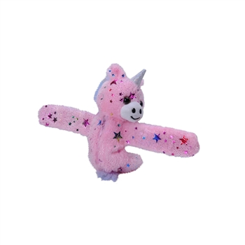 Huggers Keepers Unicorn Stuffed Animal Slap Bracelet by Wild Republic