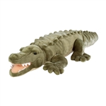 Jumbo Plush Saltwater Crocodile 36 Inch Cuddlekin by Wild Republic