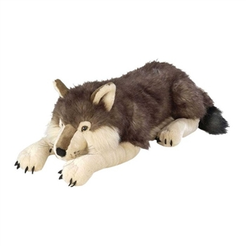 Jumbo Plush Wolf 30 Inch Cuddlekin by Wild Republic