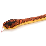 Stuffed Rainbow Boa 54 Inch Plush Snake By Wild Republic