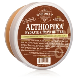 Aethiopika Twist Out Hair Butter – Perfect Your Twist Out Hairstyles | Qhemet Biologics