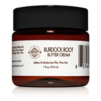 Burdock Root Butter Cream (1 oz) - Light Moisturizer for Thin African Hair | Qhemet Biologics