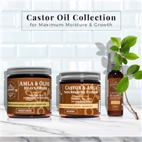 Moisturizing Castor Oil Hair Care Collection | Qhemet Biologics