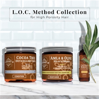 L.O.C. Method Collection for High Porosity Hair