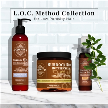L.O.C. Method Collection for Low Porosity Hair