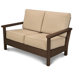 Polywood Harbour Deep Seating Settee