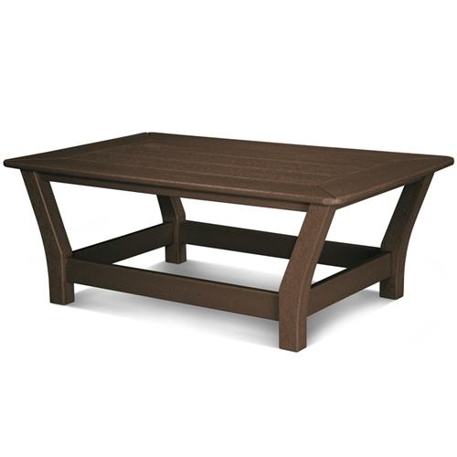 Polywood Harbour Slat Coffee Table - Polywood coffee table